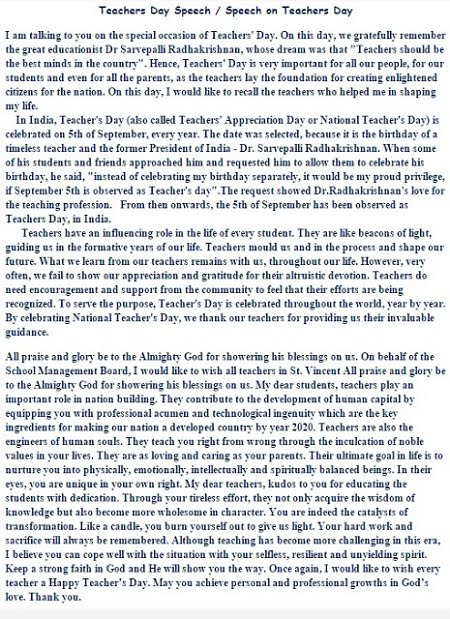 essay on teacher day teachers essay teachers day essay in malayalam
