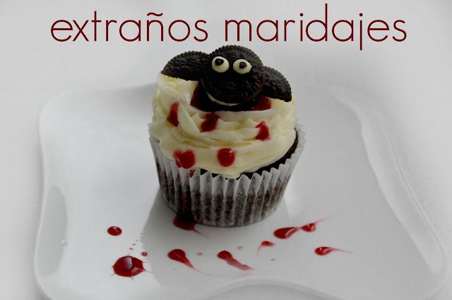 Cupcakes Sangrientos