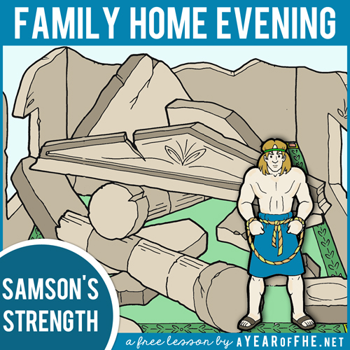 Samson and the Riddle - Life, Hope & Truth | 500x500