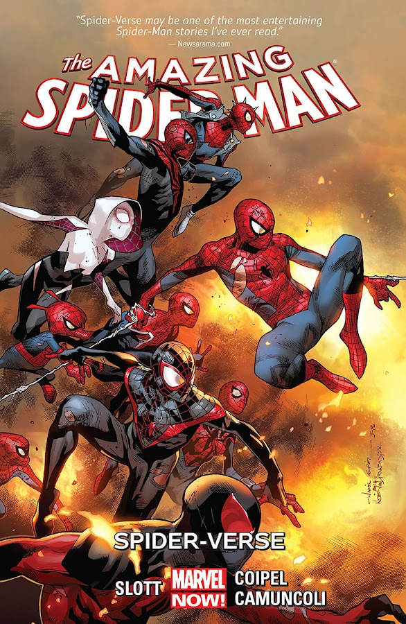 spider verse marvel comics