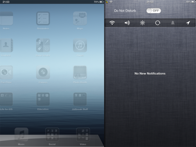 Download MountainCenter Tweak From Cydia