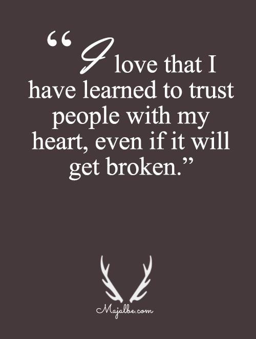 Even It Will Get Broken
