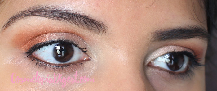 Eye Makeup Look with TheBalm Appetit Eyeshadow Palette