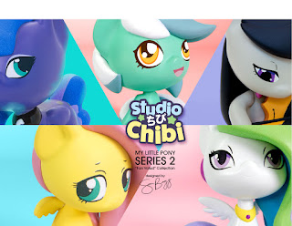 MLP Welovefine Series 2 Fan Voted Collection Chibi Figuresa