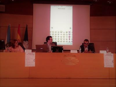 Foto de la mesa. De izquierda a derecha: Paula Gárate, Ezequiel Estebo y Manuel Martínez Pan