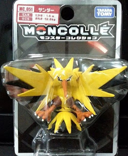 Zapdos  figure Takara Tomy Monster  Collection MONCOLLE MC series