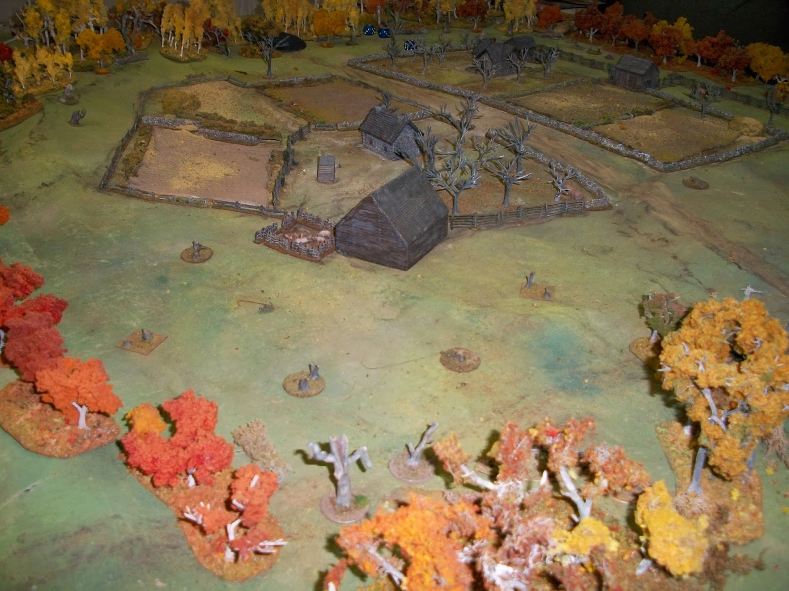 Volleyfirewargames Sharps Practice 15mm French And Indian War
