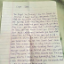 Lol! See The Love Letter a Female Student Wrote To a Corper That Got People Talking