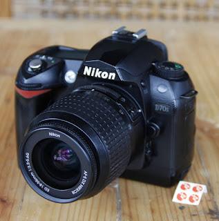 Jual Nikon D70s Seken