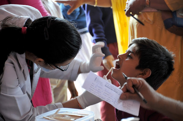 "Orident organizes ""Dental Screening"" in government schools"