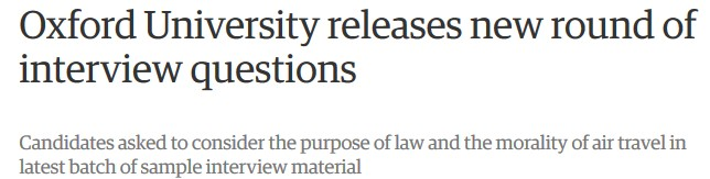 Helge scherlunds elearning news oxford university releases new theguardianuk news2017oct12oxford university interview questions sample candidates publicscrutiny Gallery