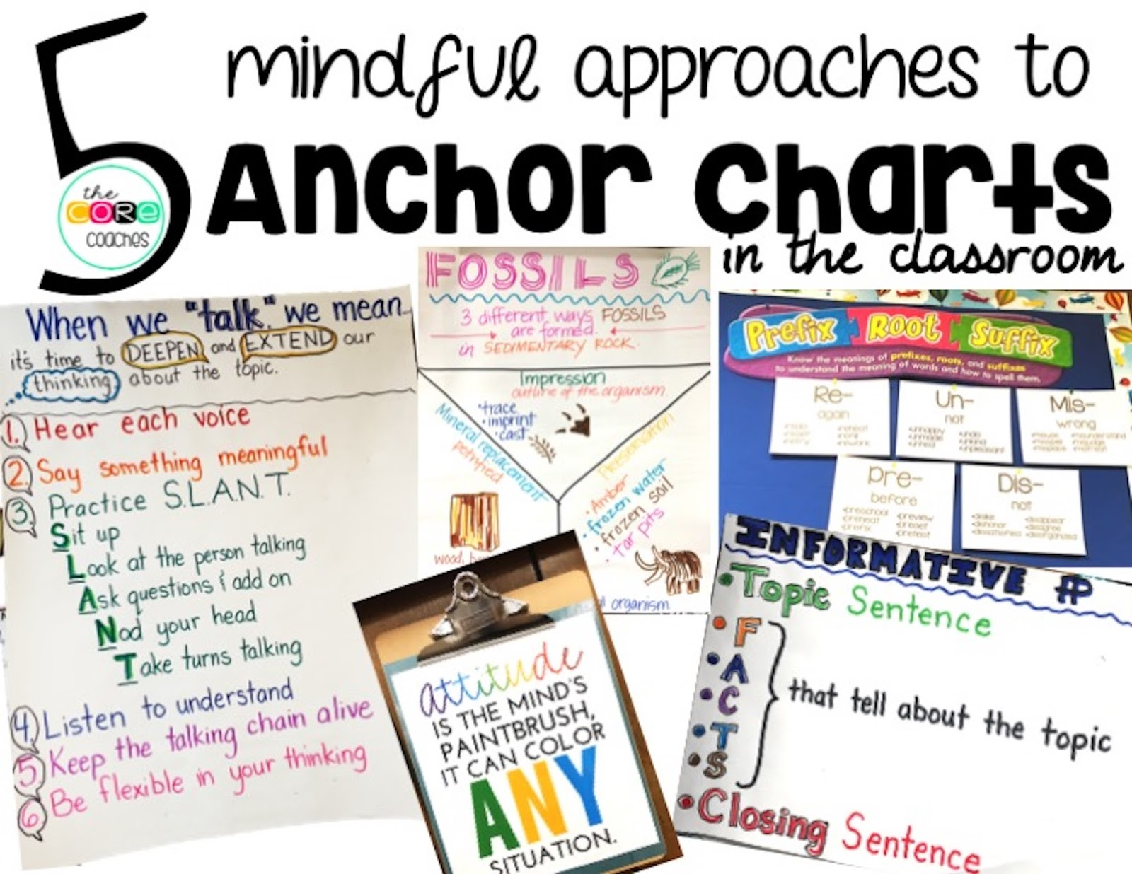 5 mindful approaches to classroom anchor charts