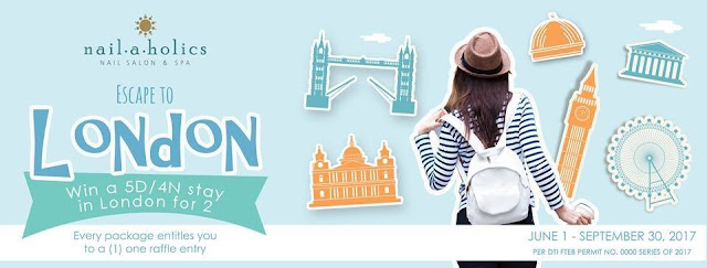 Nailaholics Nail Salon and Spa gives you the chance to visit London