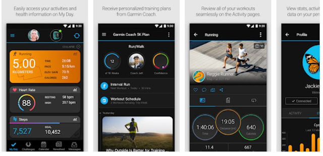 Garmin Connect (garmin vivoactive 3) mobile app - YouthApps