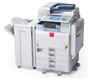 Ricoh Aficio MP C3002 Printer Network Twain XP