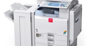 How do i add a ricoh copier as a printer on my macintosh?