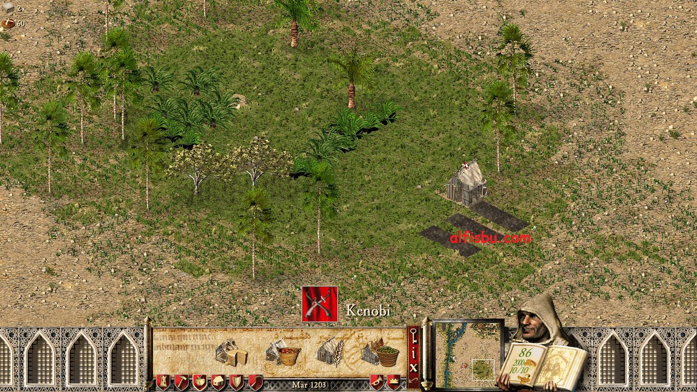 menambah pekerja stroghold crusader