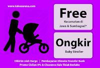 Gratis Ongkir - Kecamatan di Jawa & Sumbagsel*