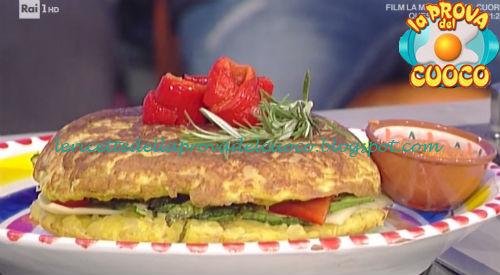 Tortilla spagnola con salsa romesco ricetta Povedilla da Prova del Cuoco