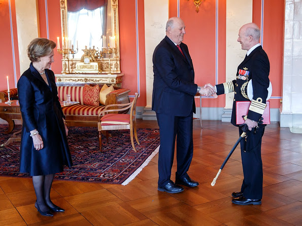 The 25th Anniversary Of Accession Of King Harald V, Congratulations Protocol