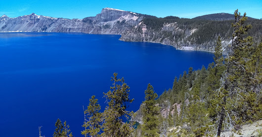 Cycling in Crater Lake National Park ~ 7-4-16