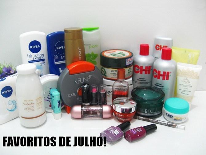 Favoritos Produtos para cabelos e perfume