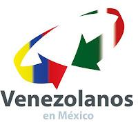 Logo Venezolanos en México