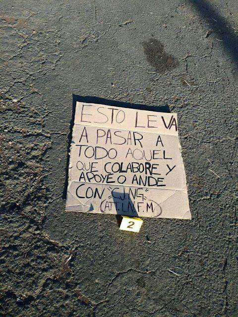 """""""A todo aquel que apoye al CJNG"""", LNFM deja cuerpo desmembrado y advertencia al CJNG en Michoacán"""