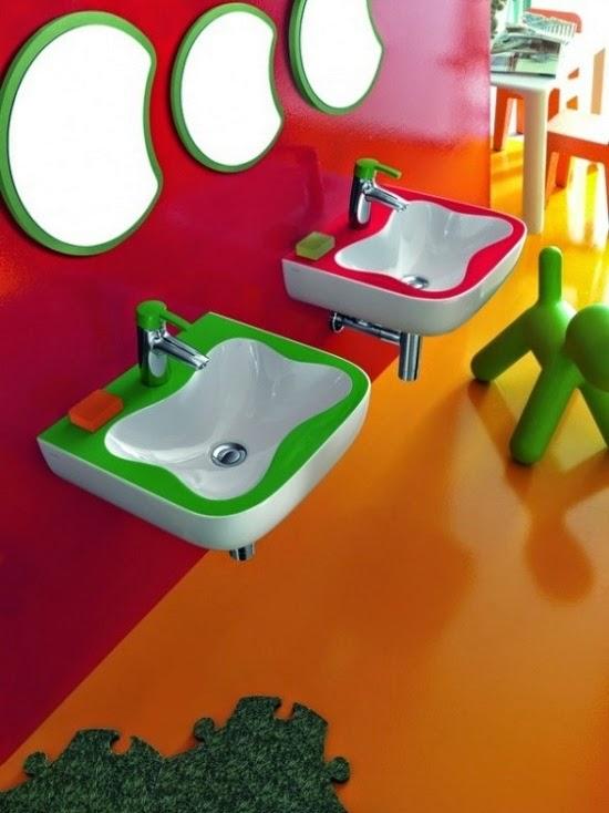 baño infantil decorado
