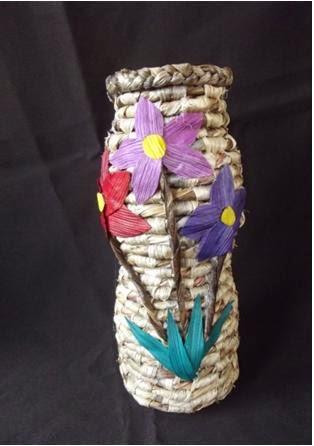 Cara Membuat Vas Bunga Dari Pelepah Pisang : membuat, bunga, pelepah, pisang, RESEP, MASAKAN, KERAJINAN, TANGAN, MUDAH, MENARIK:, MEMBUAT, BUNGA, PELEPAH, PISANG