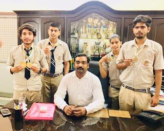 रतन कान्वेंट स्कूल के बच्चो ने शूटिंग मे लहराया परचम