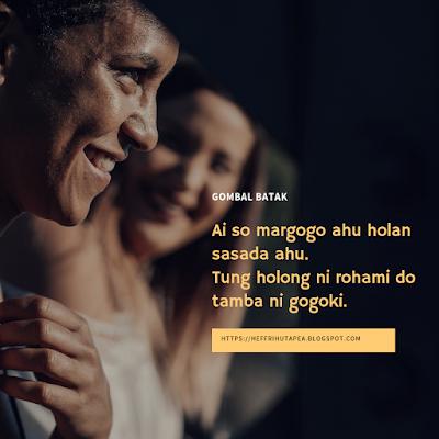 Kata gombal bahasa batak