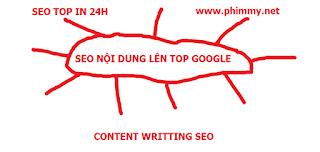 seo content len top trong 24h. seo top