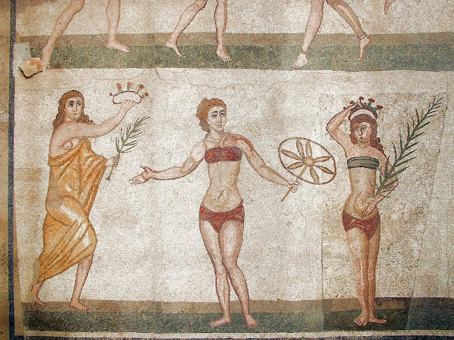 villa-romana-del-casale-mosaic