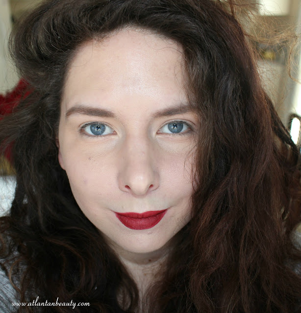 bareMinerals Gen Nude Matte Liquid Lip Color in Naughty