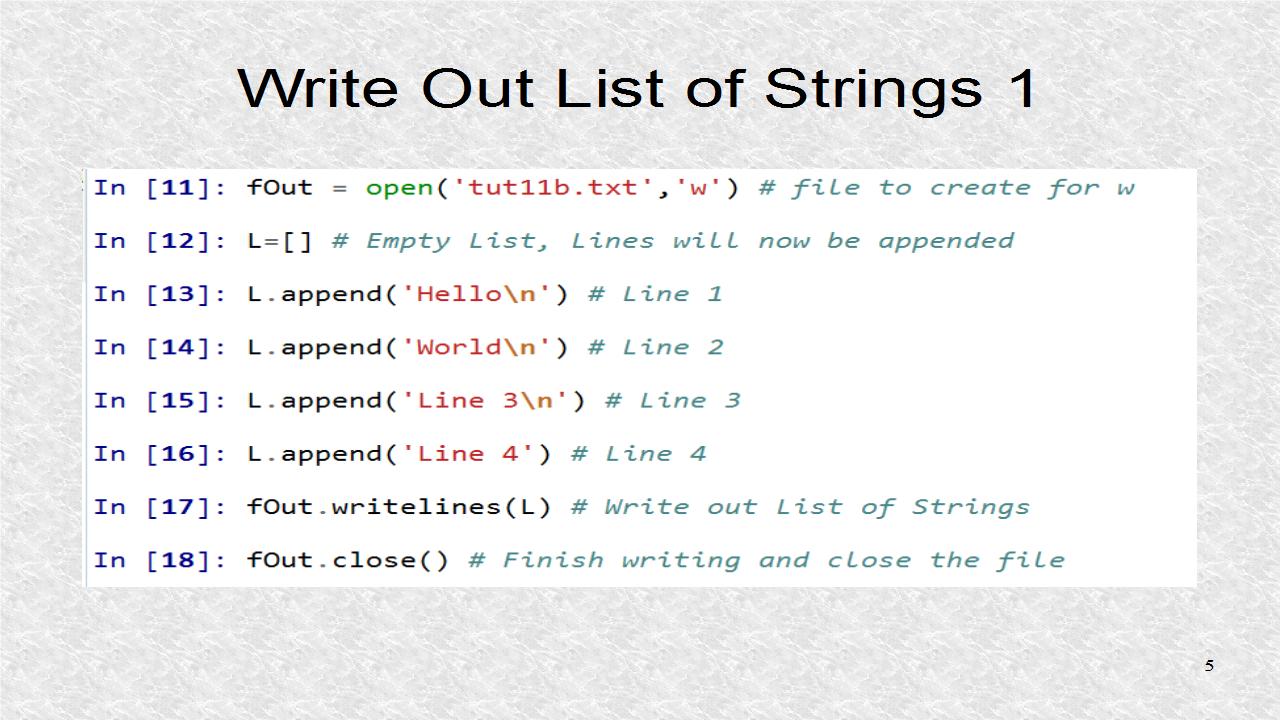 Audio Programming In Python: 11  Python Files