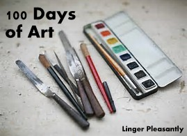 http://lingerpleasantly.blogspot.com/search/label/100%20days%20of%20art