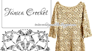Patrón de túnica crochet