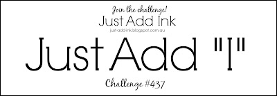 Jo's Stamping Spot - Just Add Ink Challenge #437