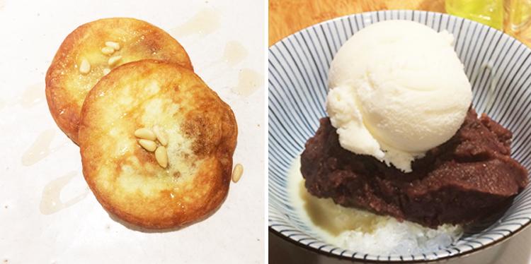 Desserts au restaurant Maru