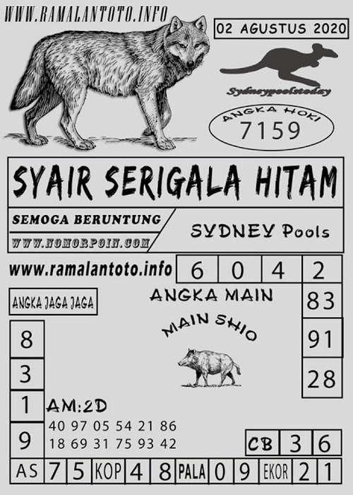 Kode syair Sydney Minggu 2 Agustus 2020 148