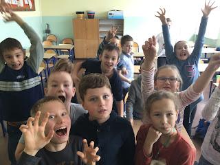 Uczniowie Szkoły Podstawowej nr 6 w Słupsku