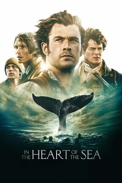 Poster of In the Heart of the Sea 2015 English 720p BluRay ESubs Full Movie 1GB