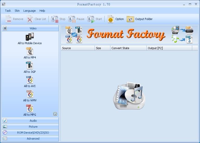Download Format Factory 3.6.0 Free