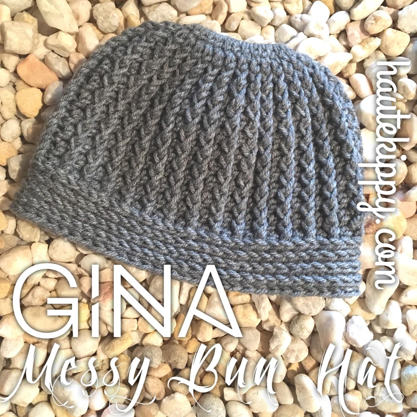 b38d97368b0 Haute Kippy  Gina Messy Bun Hat