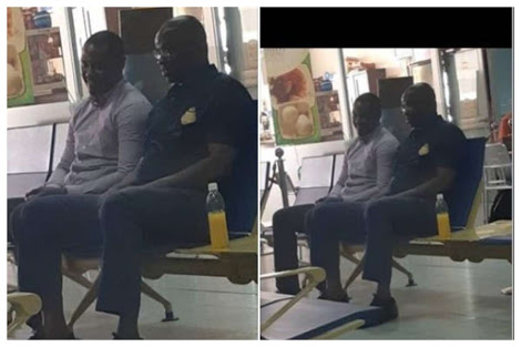 Photos Of Fayose At The Airport