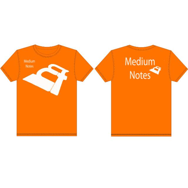 mẫu áo thun đẹp màu cam