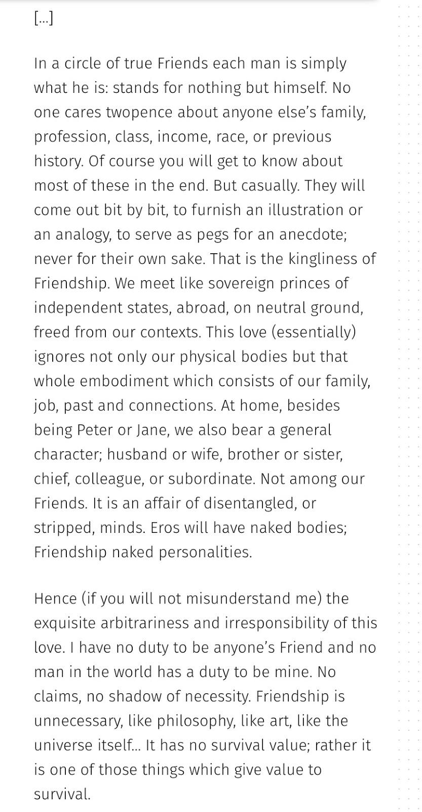 Cs Lewis Quote About Friendship Sue Hepworth  December 2016