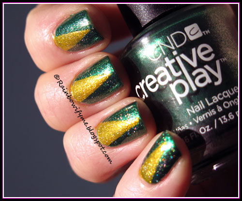 CND Creative Play ~ Shamrock On You and Foiled Again