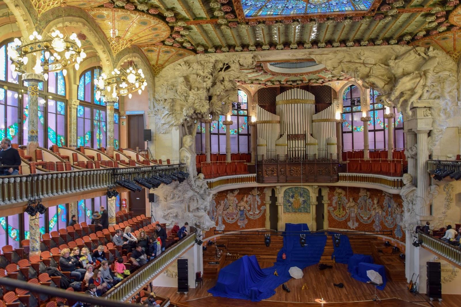 Muzyczna Barcelona z dziećmi